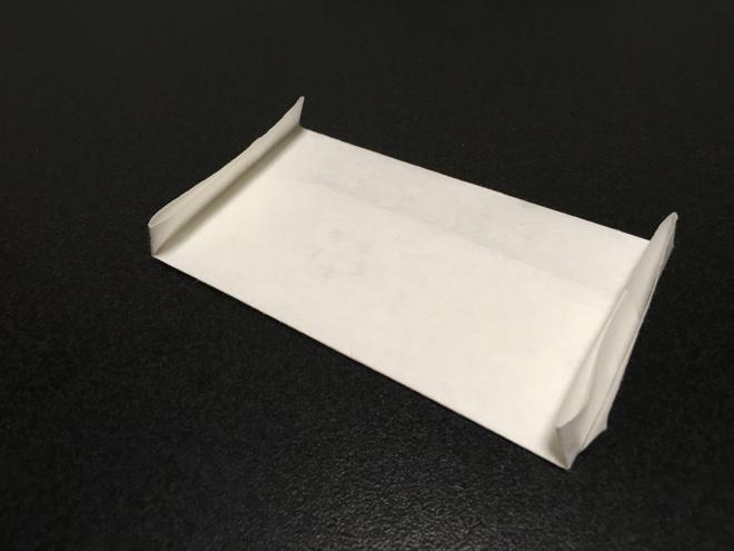 懐紙でぽち袋 完成形